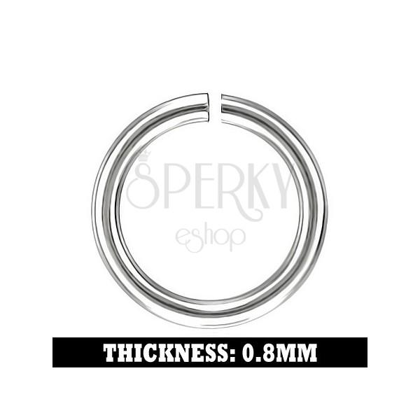 Oceľové ukončovacie očko, 4,5 mm