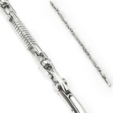 Náramok z chirurgickej ocele pružina a pohyblivý valec