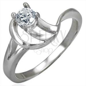 Zásnubný prsteň zložitý vzor