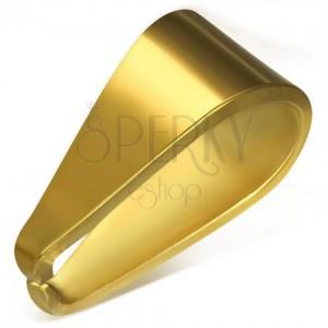 Náhradný háčik z chirurgickej ocele zlatej farby, 4 x 9 mm