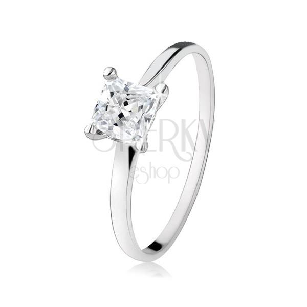Zásnubný prsteň zo striebra 925 87601ce6c8a