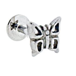 Labret Motýľ s dierkami v krídlach