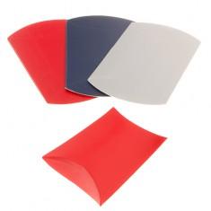 Krabička z papiera, matný hladký povrch, rôzne farebné odtiene