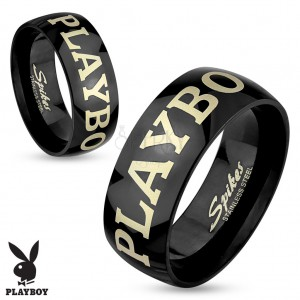 Playboy čierna obrúčka