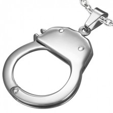 Prívesok oceľ - policajné puto