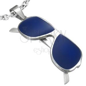 e03db8493 Prívesok oceľ - okuliare | Šperky Eshop
