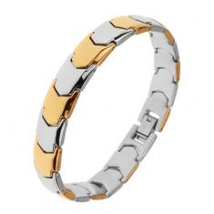aead42ac48a Šperky eshop - Lesklý oceľový náramok