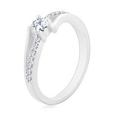 Strieborné zásnubné prstene  cf9052f2ee1