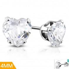 Šperky eshop - Oceľové náušnice v striebornom odtieni bdb6e6d3ee9