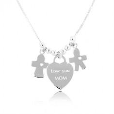 Šperky eshop - Strieborný náhrdelník 925 b72fb1c5b36