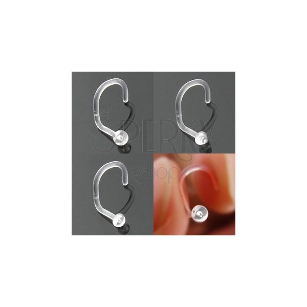 Piercing do nosa BioFlex - rôzne hlavičky