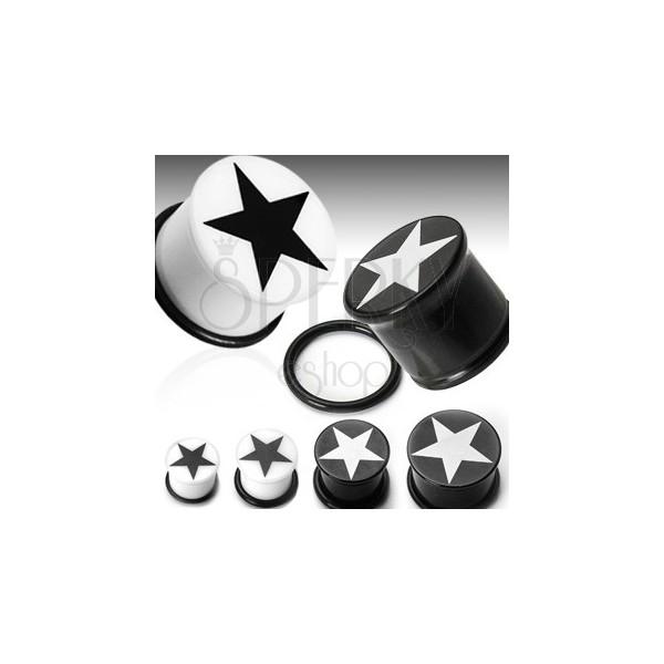 Plug do ucha symbol hviezda