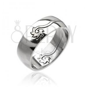 Oceľový prsteň - stočený disk
