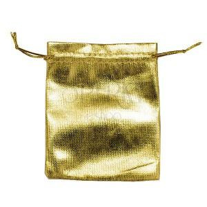 Darčekové vrecúško zlaté - lesklé