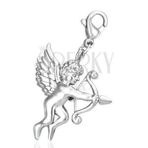 Oceľový prívesok - kúzelný Amorov šíp