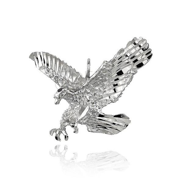 dd2f864f2 Strieborný prívesok 925 - trblietavý útočiaci orol | Šperky Eshop