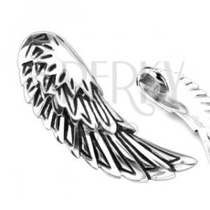Prívesok z chirurgickej ocele - anjelské krídla