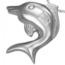Prívesok z chirurgickej ocele veľký delfín