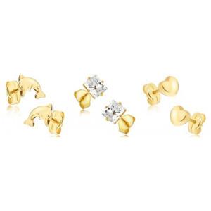 ca81586fc Dámske zlaté náušnice   Šperky Eshop