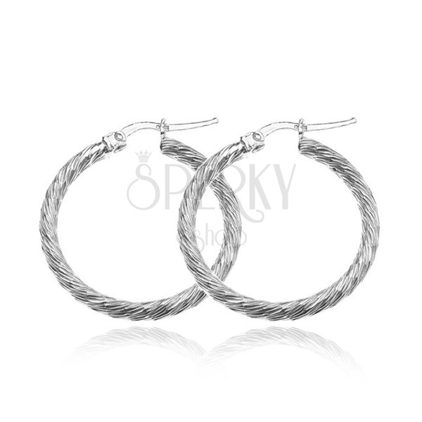 Clic Hoops Spring Closure French Lock